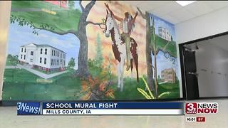Controversy over school mural