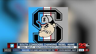 South High School considers changing 'Rebel' name