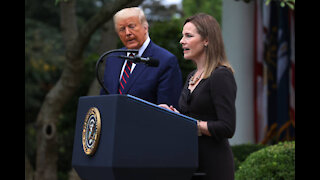 Civil Rights Leaders Shake Their Heads At Amy Coney Barrett's Supreme Court Confirmation