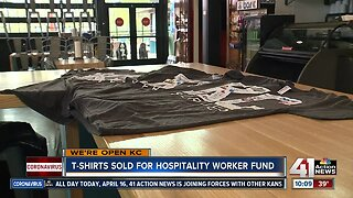 #WeSeeYouKSHB: KC businesses design T-shirt to benefit service employees