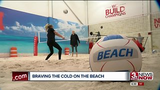 Huskers beach volleyball