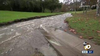 Christmas week in San Diego begins with heavy rain
