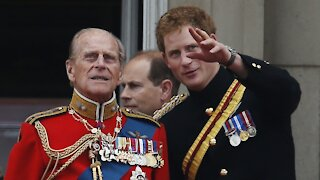 Prince Harry Pays Tribute To Grandfather Prince Philip