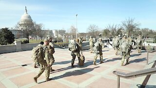 Military Police New York National Guard Mobilized to Provide Safety in Washington, D.C.