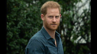 Prince Harry praises healthcare workers