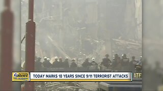 Today marks 18 years since 9/11 terrorist attacks