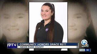 Gathering honors Holy Cross rower killed in Vero Beach crash