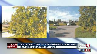 Cape Coral family settles in wrongful death suit