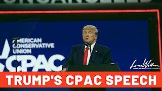 Donald Trump's CPAC Speech | Lance Wallnau