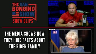 The Media Shows How The Hide Facts About The Biden Family - Dan Bongino Show Clips
