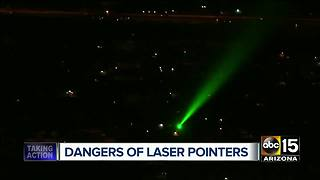 How laser pointers can impact your health and safety