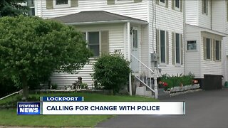 Lockport neighbors calling for change after man dies in police custody