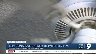 TEP asks customers to conserve energy during peak hours