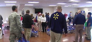 Operation Homefront distributes hundreds of meals and toys