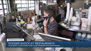 Rebound Detroit: Sticker shock at restaurants