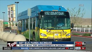 Golden Empire Transit District adjusting bus fares starting October 1
