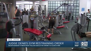 Judge denies gym restraining order amid fight to stay open