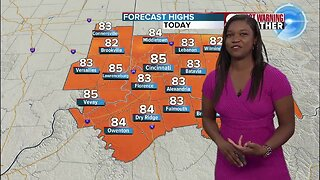 Your Wednesday afternoon forecast