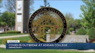 COVID-19 outbreak at Adrian College in Michigan
