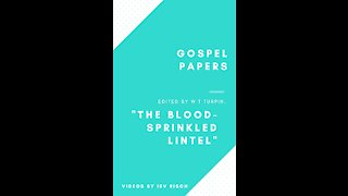 """The Blood sprinkled Lintel"""