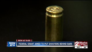 Federal grant aimed to put shooters behind bars