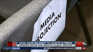 Local churches adapt to COVID-19 outbreak by offering online or drive-in church services