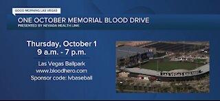 1 October memorial blood drive