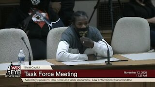 Task force on policing hears testimony