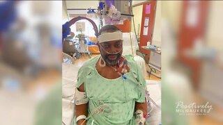 West Allis man rejoices after COVID-19 treatment