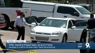1 person killed in motel shooting near 22nd Street and I-10