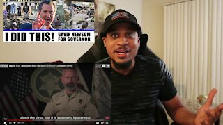 Sheriffs Call Governor of California Gavin Newsom A Hypocrite Over Covid Lockdowns