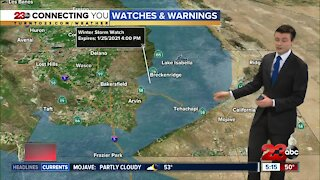 23ABC Evening weather update January 22, 2020