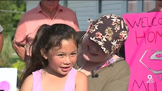 Molly Chapol welcomed home after 150-day COVID battle