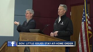 Governor Little issues stay-at-home order for Idaho