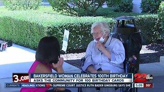 Bakersfield woman celebrates 100th birthday