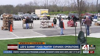 Lee's Summit food pantry expands operations