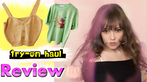 Massive try-on haul Yesstyle - colors of spring: reaction & review