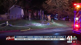 Community makes Christmas complete for Olathe couple after fire