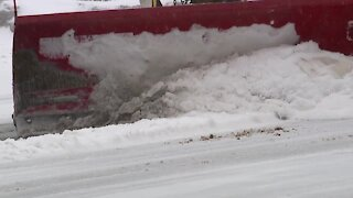 Road crews tackle sleet & ice in Baltimore County