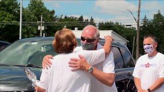 Depew celebrates retiring high school principal