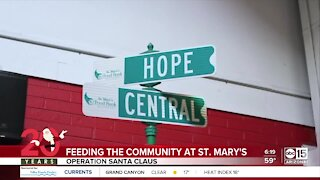 Operation Santa Claus is raising money for St. Mary's Food Bank