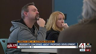 Proposed Shawnee zoning, development change concerns area residents