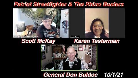 10.1.21 Patriot Streetfighter & NH Rhino Busters General Don Buldoc & Karen Testerman