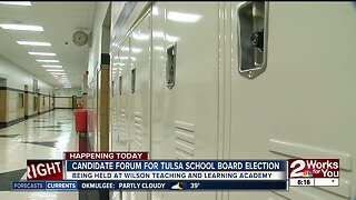 Candidate forum for tulsa school board election