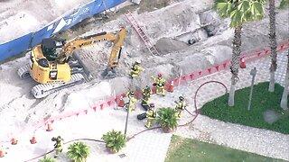 CHOPPER 5 VIDEO: HAZMAT situation at Palm Beach Atlantic University
