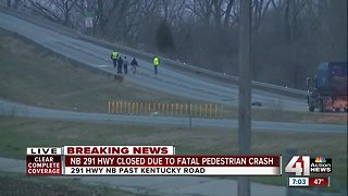 At least 1 person dead following pedestrian-involved crash on 291 Highway