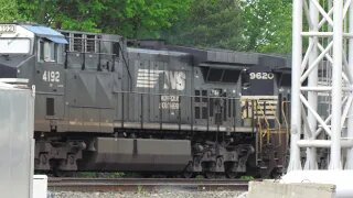 Norfolk Southern Intermodal Train from Berea, Ohio