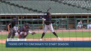 Tigers off to Cincinnati to start season