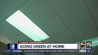 Going green at home