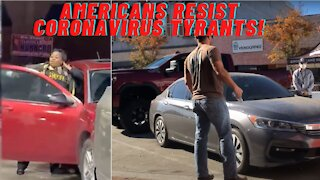 Americans Fight Back Against COVID Tyrants!
